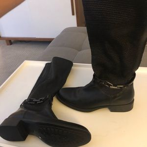 Aquatalia leather water proof boots size 9